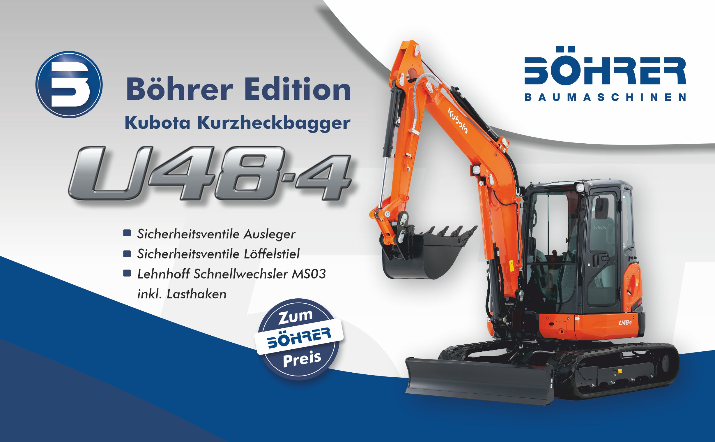 Kubota U48 Aktionsangebot